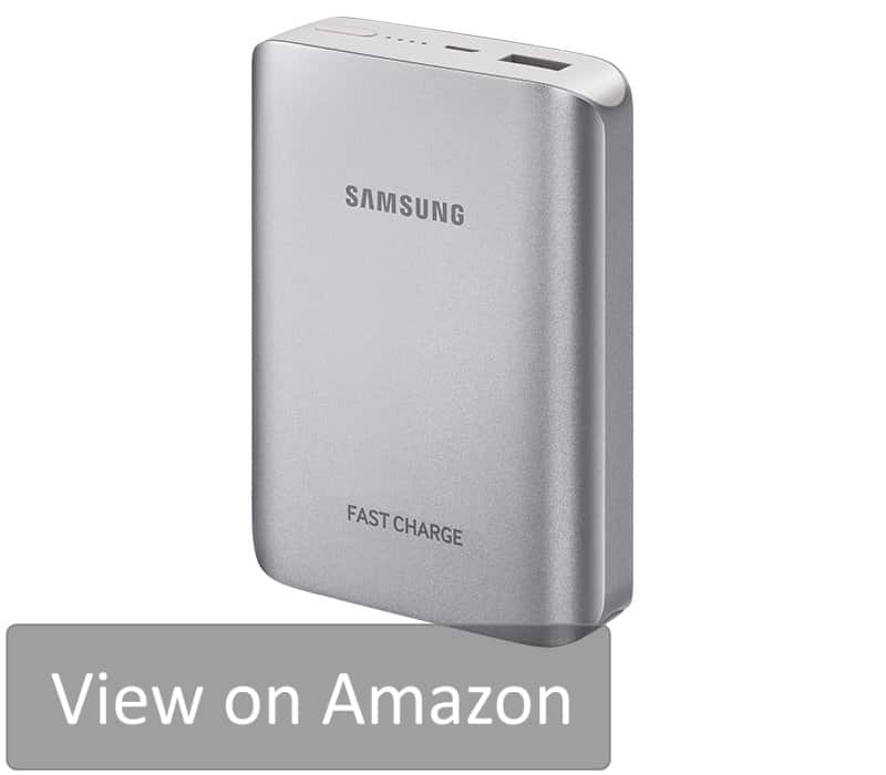Samsung Fast Charge Battery Pack is one of the best portable phone charger of 2018. It is designed specifically for a mobile phone and can charge it in no time.