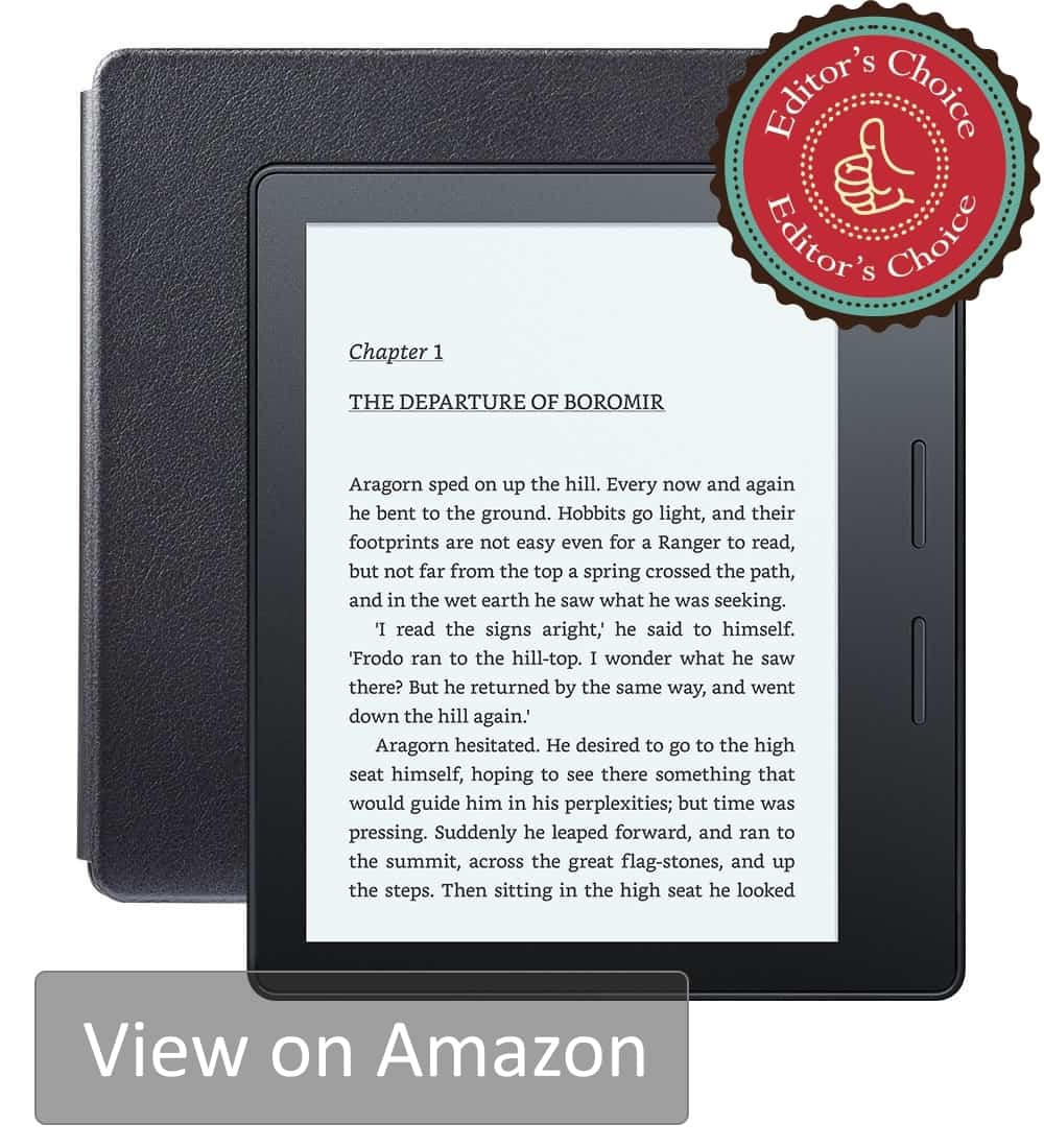 Best eReader 2018 Overall - The Amazon Kindle Oasis is the best Kindle ever made. It is the new, worthy flagship.
