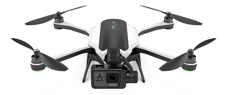 The GoPro Karma is definitely the Best Drone For GoPro hands down. It is robust, stylish, has amazing flying performance and specifically tailored to work with GoPro Hero 4, 5 and 6