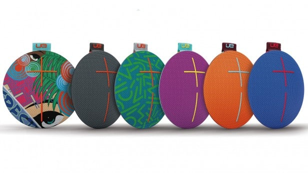 The best waterproof Bluetooth speaker UE Roll 2, features various colors to match your taste and keep it fun!