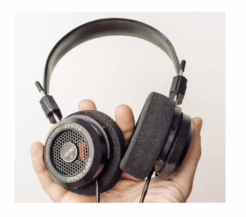 Open back headphones are great for private use in a quite space. A real dream for an audiophile!