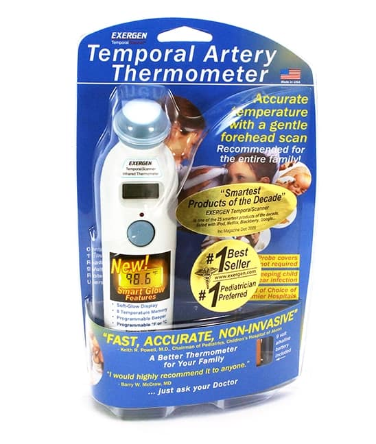Looking for the best temporal thermometer? Exergen temporal artery thermometer is the way to go!