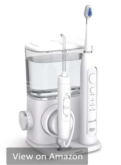 Are you are looking for the best cordless water flosser? The Waterpik Complete Care 9.0 is the top choice that comes with crazy value.