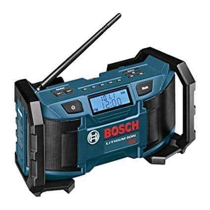 If you are looking for the best portable fm radio for construction site use - Bosch PB180 is our pick