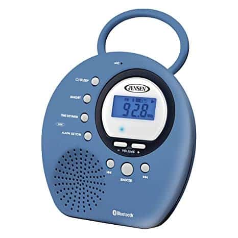 Given only a few options on the market Jensen Bluetooth Waterproof radio is the best shower radio around.