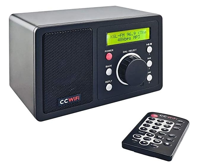 CC WiFi Internet Radio is the best small internet radio around. It is simple, but punches well above its weight in terms of sound and features.