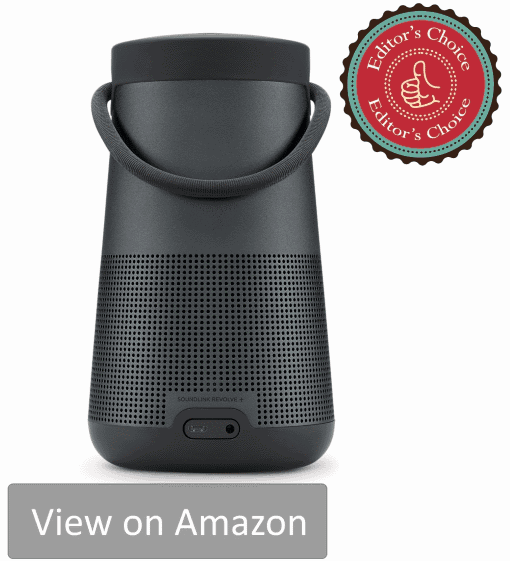 This is the top portable wireless speaker in a premium range. Bose SoundLink Revolve+ is the best speaker you can buy for the money.