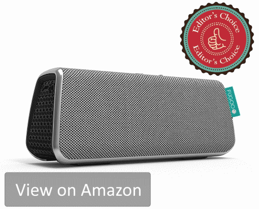 Do not let the looks deceive you. Fugoo Style is the most versatile speaker which is tough and stylish. Best wireless speaker under $100, period.