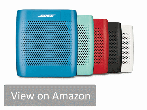 Are you are after a tough speaker that has a premium sound quality? Bose SoundLink Color II is our favorite and best tough speaker in the review. It is portable, light, rugged and it sounds great!