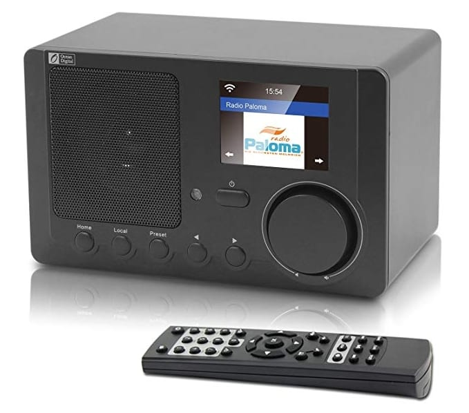 Ocean Digital WR-210CB Plays music stream from UPnP and DLNA compatible device