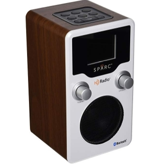 Sparc SHD-BT1 is an HD radio with FM, Bluetooth and Dual Alarms