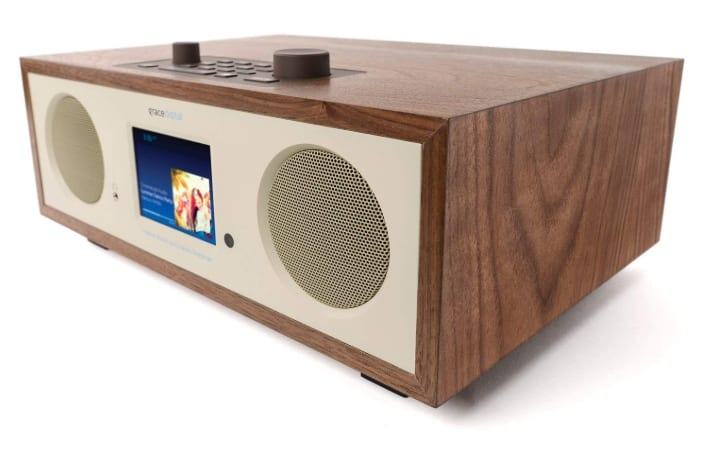 Grace Digital Encore+ is an amazing blend of the internet radio and a stereo WiFi speaker with Bluetooth streaming
