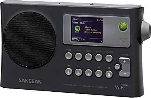 Sangean WFR-28 is a great Internet Radio / FM-RBDS / USB Network Music Player Digital Receiver