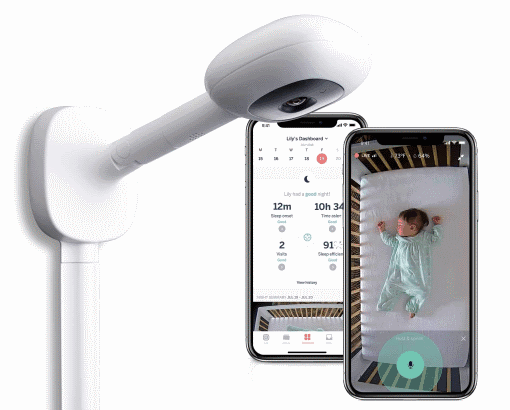 If you are looking for best wifi baby monitor in a premium range - Nanit Plus is worth your look