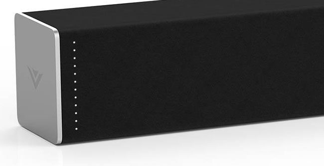 The design of the Best budget Soundbar 2018 - Vizio 3820 C6. The design is simple and sleek.