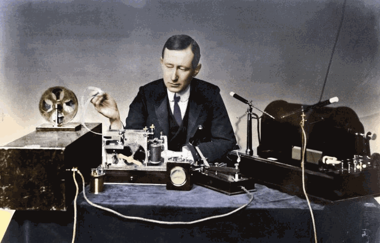 Guglielmo Marconi is generally accepted as the father of radio
