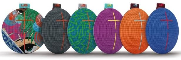 A nice fully waterproof Bluetooth speaker UE Roll 2, features various colors to match your taste and keep it fun!