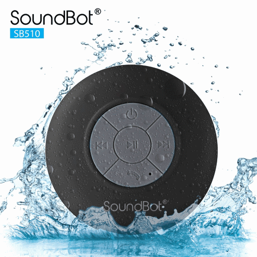 The SoundBot SB510 is more than affordable. It is the best cheap Bluetooth speaker on the market for shower use.