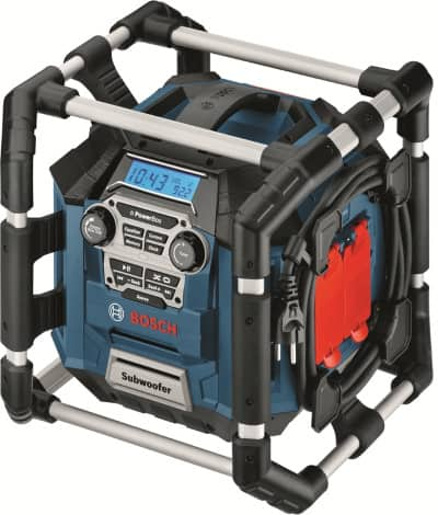PB360C Bosch Jobsite radio is the largest radio bosch currently produces